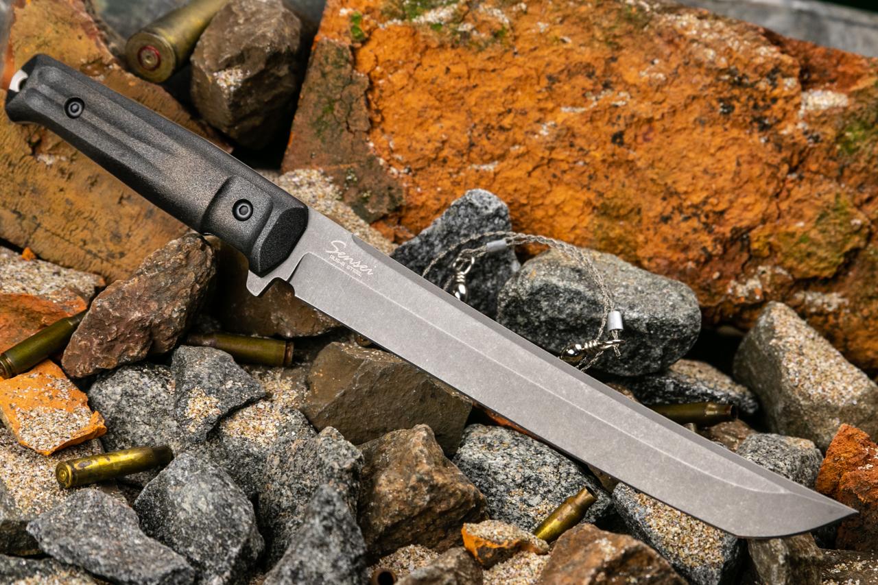 Нож Kizlyar Supreme Sensei AUS8 TacWash