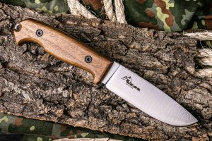 Нож Kizlyar Supreme Ural AUS8 StoneWash Орех