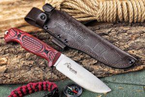 Нож Kizlyar Supreme Ural Sleipner StoneWash