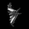Мультитул Leatherman Wave Plus Black Silver, 17 функций, нейлоновый чехол2