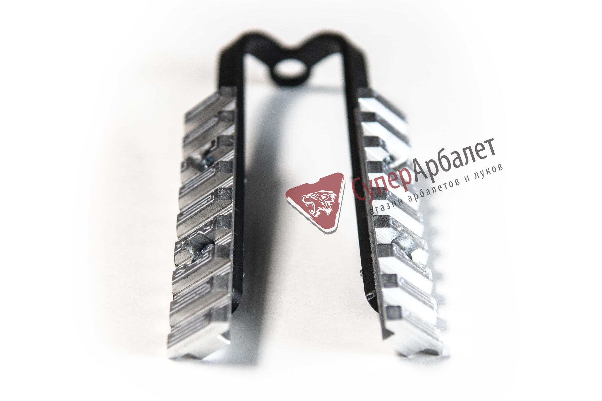 Планка пикатинни Wararcher двойная, металл