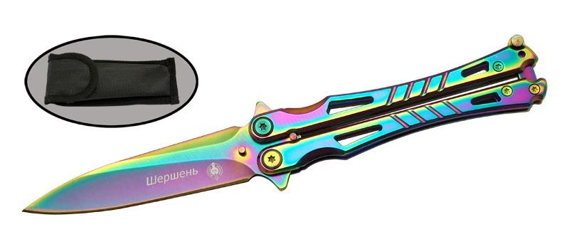 Нож складной бабочка Viking Nordway Шершень MK001-3