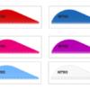 Оперение для стрел Pine Ridge Nitro Vane 2.0 цвет в ассортименте min