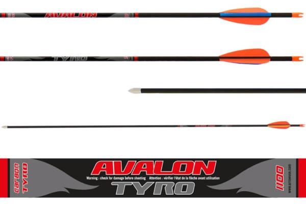 Стрела лучная карбоновая 28 Avalon Tyro 4.2 1100