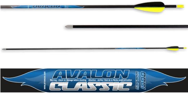 Стрела лучная карбоновая 32″ Avalon Carbon Classic 4.2 1000