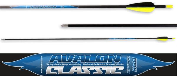 Стрела лучная карбоновая 32 Avalon Carbon Classic 4.2 1100