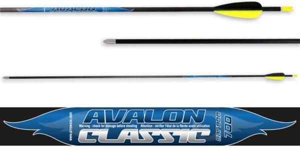 Стрела лучная карбоновая 32 Avalon Carbon Classic 4.2 700