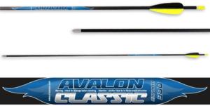 Стрела лучная карбоновая 32″ Avalon Carbon Classic 4.2 900