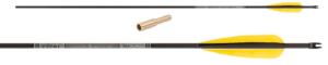 Стрела лучная карбоновая 33 Skylon Ebony 700 (натуральное перо) min (1)