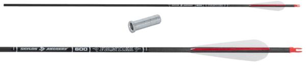 Стрела лучная карбоновая 33 Skylon Frontier 600 (натуральное перо) min