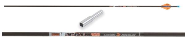 Стрела лучная карбоновая 33″ Skylon Instec 400