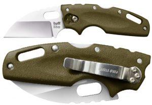Купить нож Cold Steel модель 20LTG Tuff Lite Plain Edge OD Green недорого