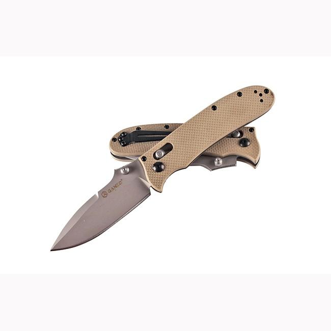 Складной нож G704 (желтый)