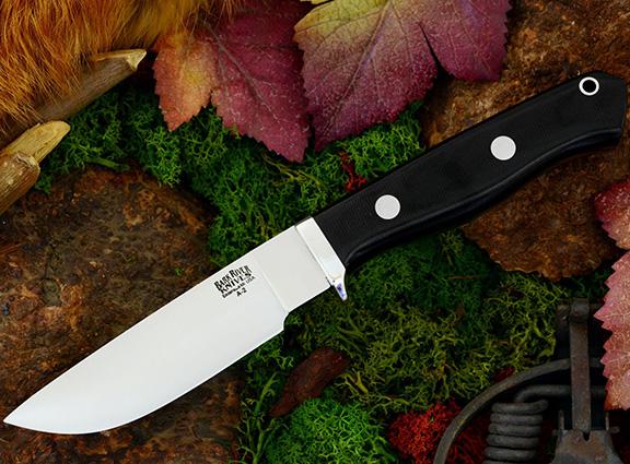 Нож с фиксированным клинком Gameskeeper Black Canvas Micarta