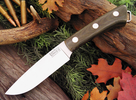 Нож Bark River Fox River модель Green Canvas Micarta