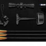 Купить Арбалет блочный Ek Torpedo (Тактик) черный (c комплектацией) в москве