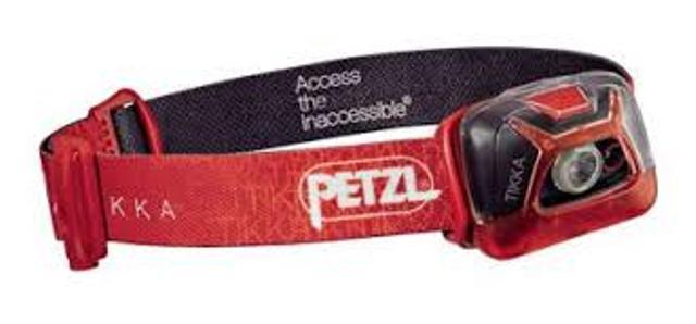 Фонарь светодиодный налобный Petzl Tikka красный, 200 лм E93AAC