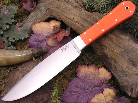 Нож с фиксированным клинком Rogue Blaze Orange G-10