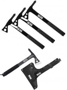 Купить набор из 3 топориков SOG, модель TH1001 Throwing Hawks с быстрой доставкой