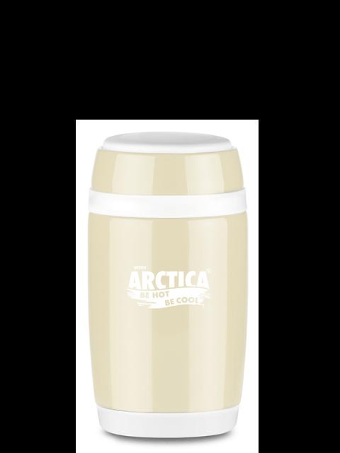 Термос бочонок для еды Арктика 409-580 (бежевый)