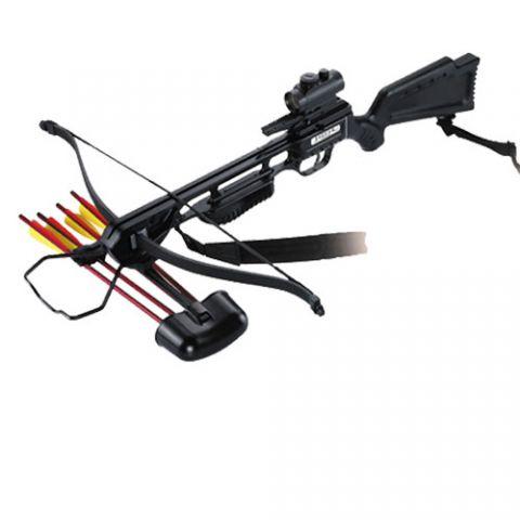 Купить арбалет Interloper Скорпион PKG (Черный) дешево с доставкой