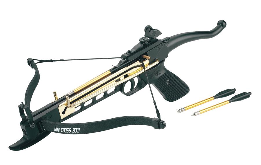 Арбалет-пистолет Man-Kung MK-80A4AL металл