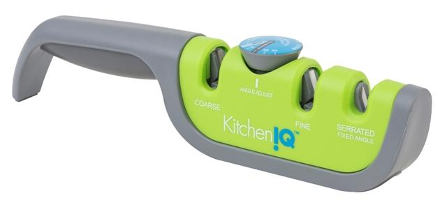 Точилка механическая для ножей с регулируемым углом заточки KitchenIQ 50687